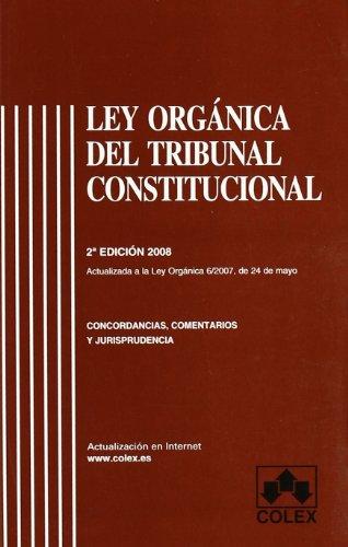 Ley organica del tribunal constitucional 2ª