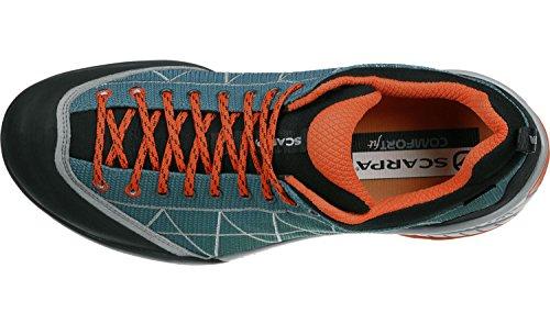 Scarpa Zen Lite GTX Scarpe avvicinamento blu nero arancione