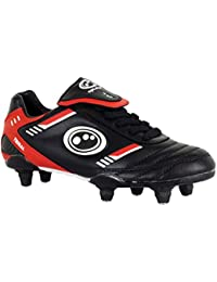 New Optimum Tribal SI Mens Football Boots Lace Up Soccer Studs Senior Size 7-12