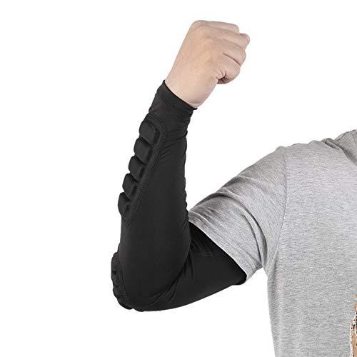 WXQQ Sport EllenbogenbandageElastische Ellenbogen-Bandage Für Damen Und Herren, Für Sport, Fitness Und Alltag, Atmungsaktiver Ellenbogenschoner, Ellbogen-Bandage Links & Rechts TragbarBlack