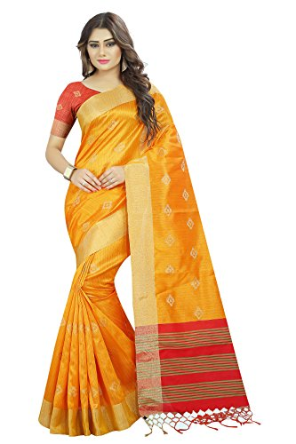 New Arrivals High Quality Raw Silk Woven Kanjivaram tussar silk saree (Latest...