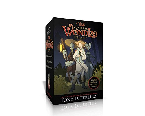 The Complete Wondla Trilogy: The Search for Wondla; A Hero for Wondla; The Battle for Wondla (The Wondla Trilogy) por Tony Diterlizzi