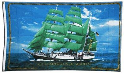 Flagge Alexander von Humboldt Schiff - 90 x 150 cm (Flagge Für Schiffe)