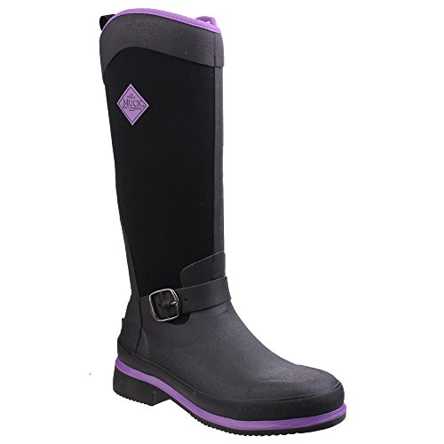 Muck Boots Reign Tall, Bottes Femme Chocolat/Bison