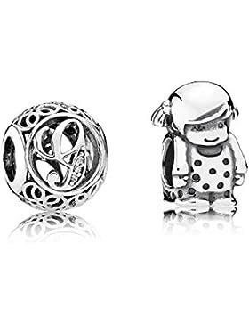 Pandora Charms Vintage G und Kleines Mädchen 08209