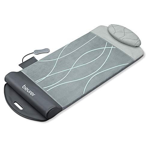 Beurer MG 280 Yoga- und Stretchmatte, zur Dehnung der Muskulatur und zur Entspannung, Massagematte für Nacken, Schultern und Rücken, faltbar