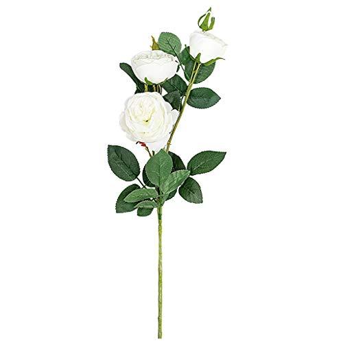 Hot Kostüm Militärische - VICKY-HOHO künstliche gefälschte Rosen Flanell Blume Braut Bouquet Hochzeit Party Home Decor