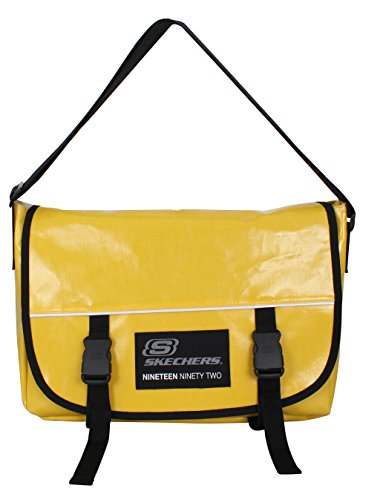 Skechers 71001.68 YellowSubmarine Umhängetasche, 11.7 Liter, Gelb (Dakine Canvas Schulter Tasche)