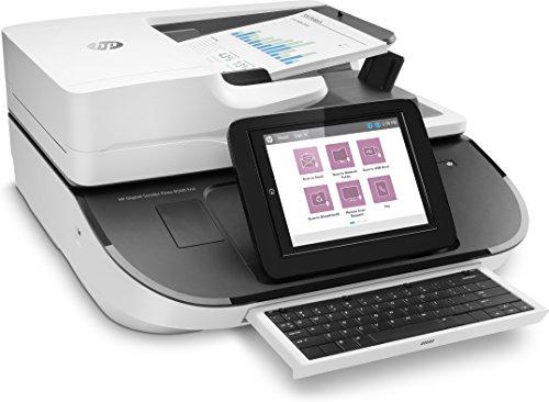 'HP Digital Sender Flow 8500FN2–Scanner Netzwerkkabel (8LCD-Display, bis zu 100ppm/200ipm, 150Blatt 75g/m², Ethernet 10/100/1000, USB), weiß (Lcd-sender)