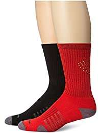 New Balance Unisex 2 Pack Crew Core Performance Socks