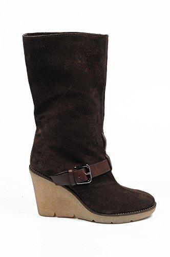 stivale basso donna Sebastian Milano short boot s3946 velour lux (sonia) 538 ebano -- 41 eur - 11 us