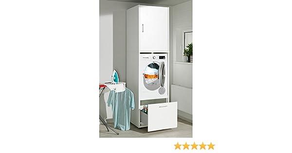 Waschmaschinenschrank melamin größe l cm