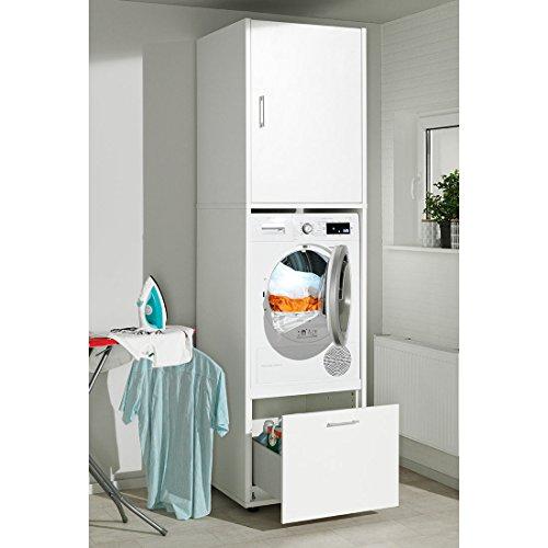 waschmaschinen und trockner schrank