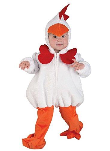einkinderkostüm Gockel, Huhn Kostüm, Größe:92 (Lustige Kinder-kostüm-ideen)