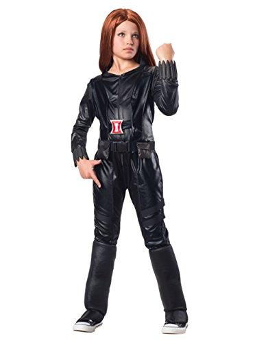 Black Widow Kinder Kostüm Kids Deluxe Soldier Winter-Set, groß, 8-10 Jahre, Höhe 4'- 5'20.32 cm