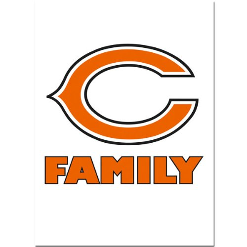 Siskiyou NFL Chicago Bears Team Pride Autoaufkleber