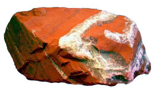 Jaspis Rot, Jasper Rot ca. 1 Kg, Dekoration für Aquarium und Terrarium
