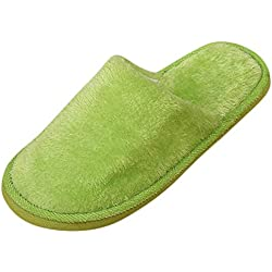 TianWlio Stiefel Frauen Herbst Winter Schuhe Stiefeletten Boots Warmes Zuhause Plüsch Weiche Hausschuhe Drinnen Anti Rutsch Winterboden Schlafzimmer Schuhe Grün 38-39