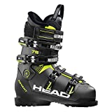 HEAD Herren Advant Edge 75 Skischuhe, Anthracite/Black/Yellow, 295
