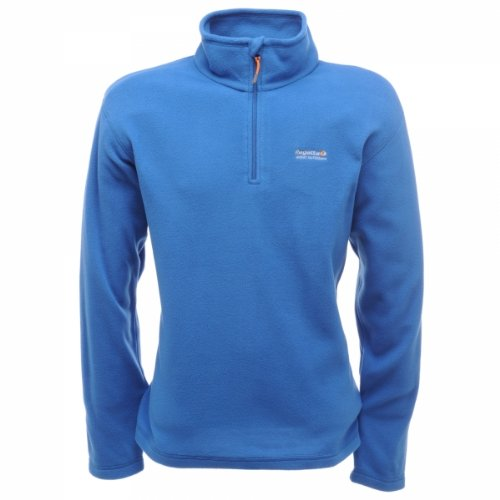 Regatta Thompson Herren Fleece Jacke,Blau (Oxford Blue),3XL