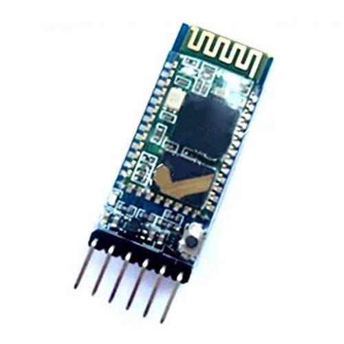 Bobury HC-05 RS232 6 broches sans fil Bluetooth Module émetteur-récepteur RF série pour Arduino EA