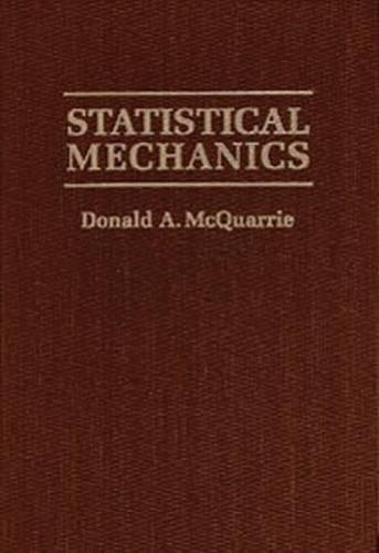 Statistical Thermodynamics Mcquarrie Pdf