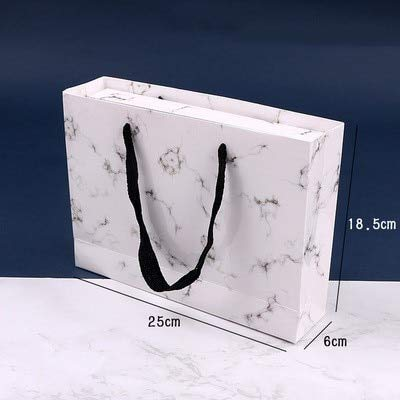 rmordruck Hochzeitsgeschenk Taschen Geschenk Fällen Für Kuchen Mond Mit Mooncake Verpackung Box Marmor Papiertüten ()