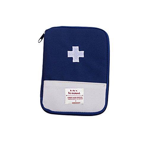 Ford Pocket Kit (TianranRT Medizinisch Tasche Notfall Überleben Medikament Lagerung Kit Behandlung Outdoor Zuhause Rettung (Blau,S))