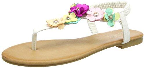 Joe Browns Villa Lante Garden Sandals, Salomés Femme White (a-white)