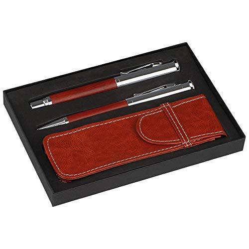 Mark Twain Schreibset inkl. Kugelschreiber und Füllfederhalter, edles Schreibmaterial für Büro u. Arbeitsplatz von notrash2003