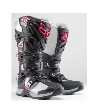 FOX COMP 5 WOMENS MX/OFFROAD BOOTS BLACK/PINK 7 by Fox Racing
