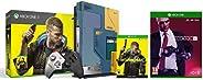 Xbox One X Cyberpunk 2077 Limited Edition Bundle (1TB)&Hitman 2 (Xbox