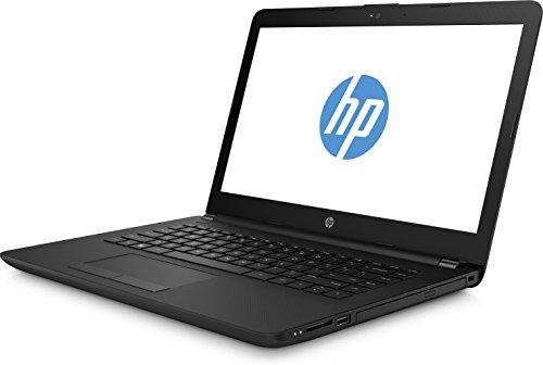 HP 14 bw007ng 14 Zoll HD SVA Laptop AMD combined main A4 9120 4 GB RAM 500 GB HDD AMD HD Grafik Windows 10 household 64 schwarz Notebooks