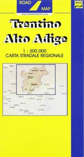 Trentino Alto Adige 1:300.000 (Carte regionali)