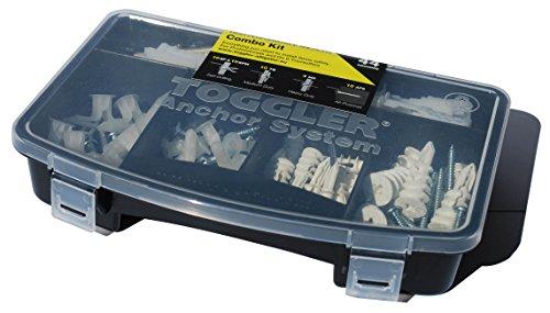 Hardware Combo Kit (TOGGLER Alligator Combo-Kit Dübel Hohlraumanker und Schrauben Set 88 Teile)
