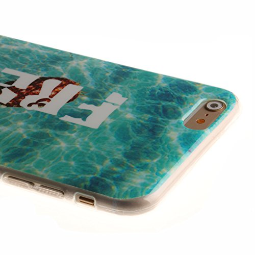 Coque Housse pour iPhone 6 6S (4,7 Zoll), iPhone 6 6S (4,7 Zoll) Coque Silicone Etui Housse, iPhone 6 6S (4,7 Zoll) Souple Coque Etui en Silicone, iPhone 6 6S (4,7 Zoll) Silicone Transparent Case TPU  ananas