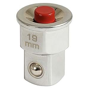 "KS Tools 503.4998 GEARplus RINGSTOP-Stecknuss-Adapter, 1/2"" x19mm"