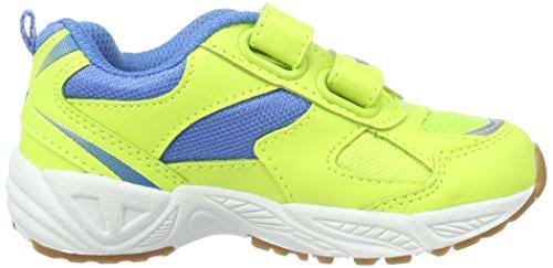 Lico  Bob V,  Scarpe sportive indoor unisex bambino Giallo (Gelb/Blau)