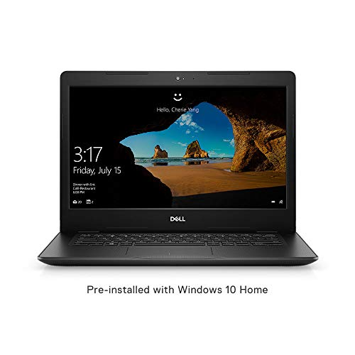 Dell Vostro 3480 Intel Core i3 8th Gen 14-inch HD Thin & Light Laptop (4GB/1TB HDD/Windows 10 Home/Black/ 1.72kg)
