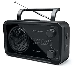 Muse M-05 R Radio portable Multibandes Noir