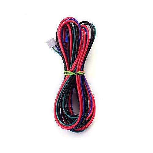 Festnight Anet 18AWG Mejora Cable de la cama con calefacción Línea de la cama con calefacción Longitud del cable 90 cm / 35,4 pulgadas para Anet Anet A8 A6 A2 A3 E12 E10 Proveedores de actualización
