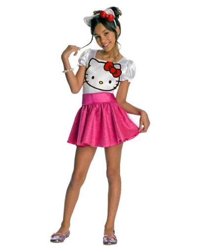 Rubie's Hello Kitty-Kostüm für Mädchen (Kostüm Hello Kitty Für Kinder)