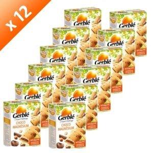 GERBLE gerblé-gerblé Biscuit Choco Magnesium 200g (x12)