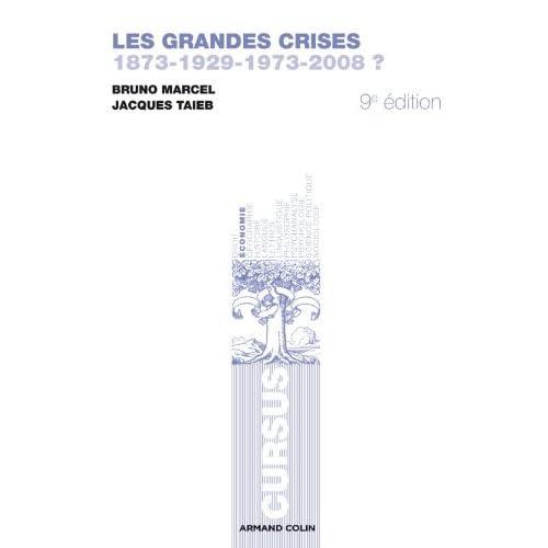Les grandes crises: 1873-1929-1973-2008 ?