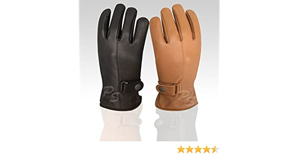 Prime Men/'s Fashion Driving Gloves Slim Fit Chauffeur Classic Dress Gloves 9900