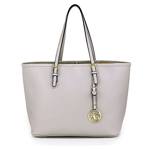 Trendstar Damen Konstrukteur Taschen Damen Große Shopper Bag Kunstleder Schulter Trage Taschen (London Tragen)