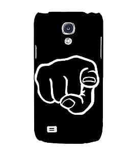 Fuson Designer Back Case Cover for Samsung Galaxy S4 Mini I9195I :: Samsung I9190 Galaxy S4 Mini :: Samsung I9190 Galaxy S Iv Mini :: Samsung I9190 Galaxy S4 Mini Duos :: Samsung Galaxy S4 Mini Plus (A Warnign Image Theme)