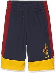adidas Kinder Cleveland Cavaliers Shorts, Bleu/Jaune/Blanc