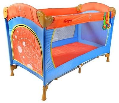 Cuna de viaje - Cunas y camas - Cuna plegable - Cuna infantil - Travel Cot ARTI Basic Fresh Orange /Blue by ARTI