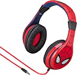 eKids Marvel Spiderman Youth Over the Ear Wired Headphones